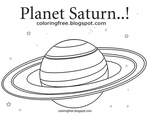 saturn coloring page free coloring pages printable pictures to color