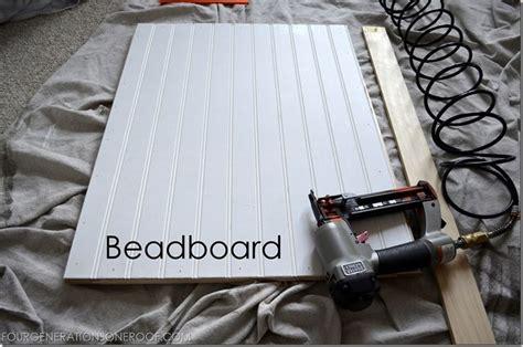 make beadboard cabinet doors diy built in barn doors tutorial