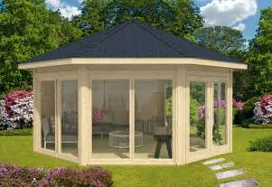garten pavilion gartenpavillon modell r 252 mit vier fenstern a z