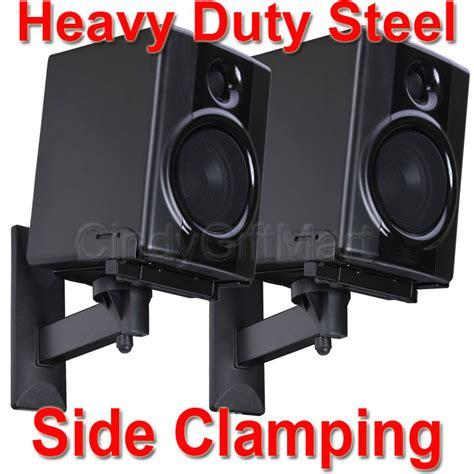 Braket Speaker Ross Braket Speaker 4x speaker wall mount bracket side cl large bookshelf surround sound tilt c7n 791090678209 ebay