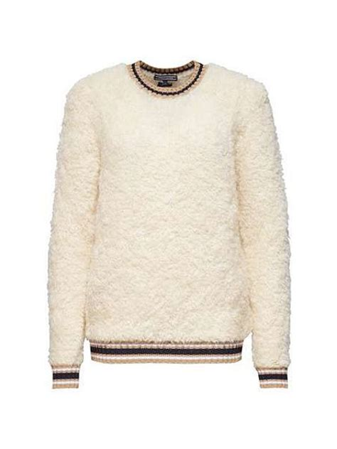 Teddy Sweater hilfiger pilca teddy sweater white house of fraser