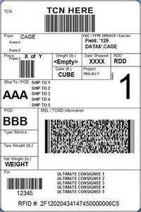 package shipping label template bing images