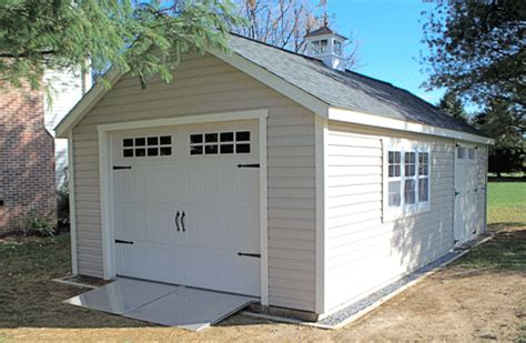 amazing one car garage door storage sheds playsets arbors gazebos and more available from fox country sheds