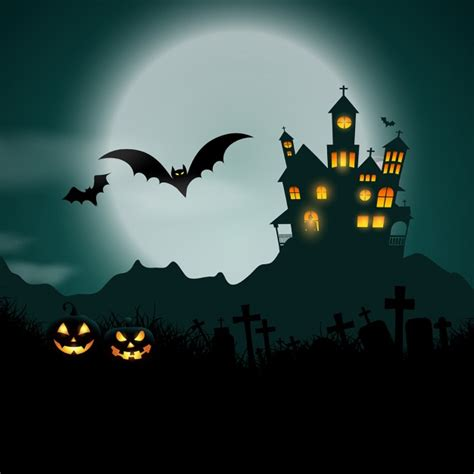 Is My House Haunted Address Search Free Background With Haunted House And Pumpkins