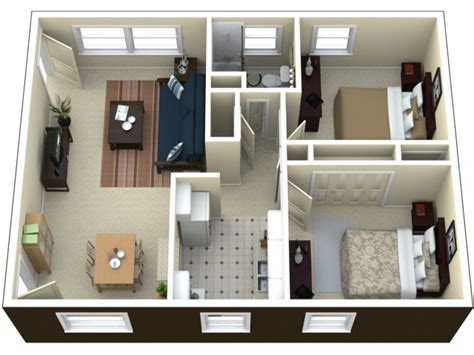 2 Bed Apartments by 2 Bedroom Apartment