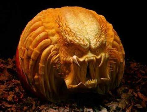 predator halloween pumpkin carving pinterest