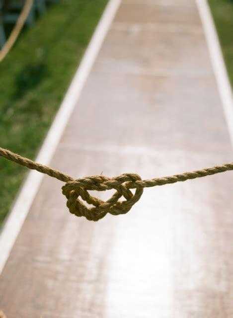Nautical Wedding Aisle by Nautical Wedding Ideas United With