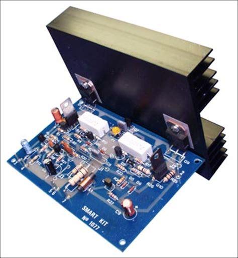 transistor lifier kit 100w audio lifier with transistor bdw83d bdw84d