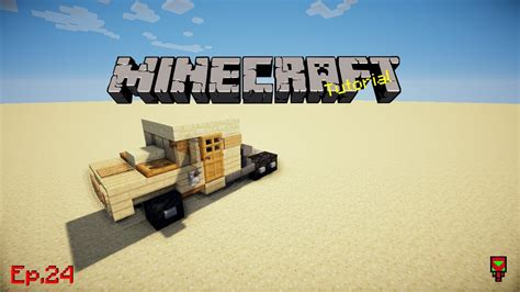 minecraft army truck army truck minecraft tutorial ep 24 youtube