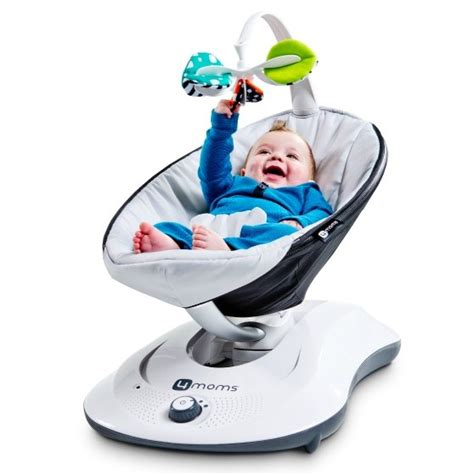 electronic baby swings rockaroo baby swing by 4moms project nursery