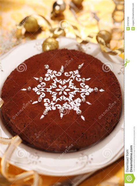 how to decorate chocolate cake at home torta di cioccolato decorata con il fiocco di neve