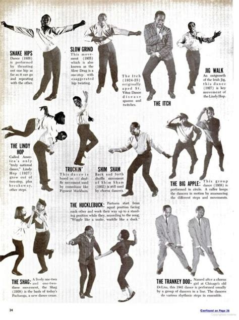 Time To Dance Vintage Instructions To Get You Dancing In