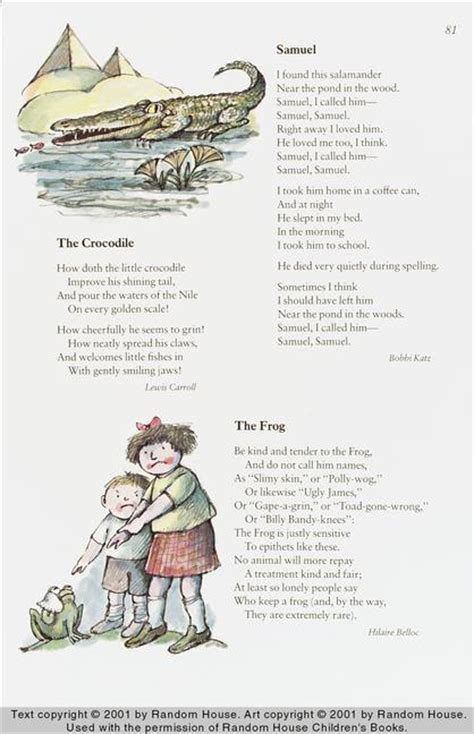 random house children s books the random house book of poetry for children