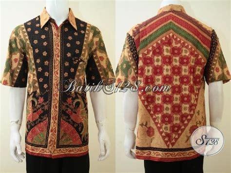 Baju Pria Big Size baju batik pria ukuran big size untuk laki laki berbadan gemuk ld3321bt toko batik