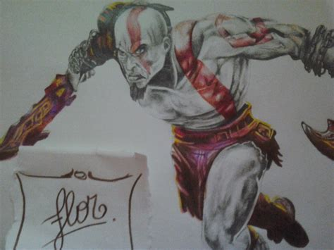 imagenes epicas de kratos dibuje a kratos god of war taringa