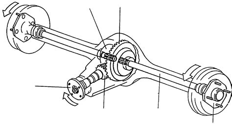 Shaft Roda R Depan sistem pemindah tenaga poros penggerak axle shaft