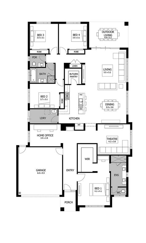 trend homes floor plans perfect ranch house plans with trends 3 bedroom rambler