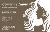 hairdressing cards business business card design templates hairdressing beautician