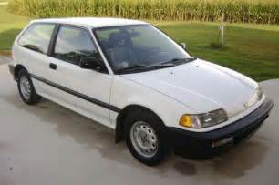 1991 Honda Civic Base Hatchback 3 Door 1 5l For Sale
