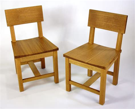 White And Oak Dining Chairs Quartersawn White Oak Dining Set Rugged Cross Woodworking