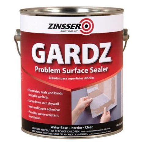 zinsser 1 gal gardz clear water base drywall primer and
