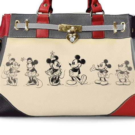 Designer Kitchen Gadgets disney mickey mouse and minnie mouse love story handbag