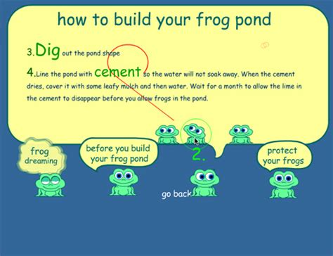 how to build a frogpond dvize creative
