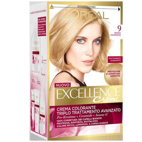 L Oreal Excellence l oreal excellence n 9 biondo chiarissimo