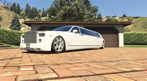 roll royce gta rolls royce phantom limo gta5 mods com