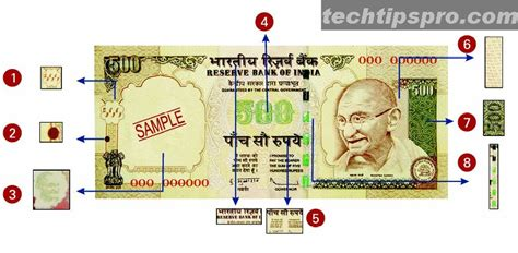 3 ways to identify new rs 500 and information is wealth identify 1000 rupees 500