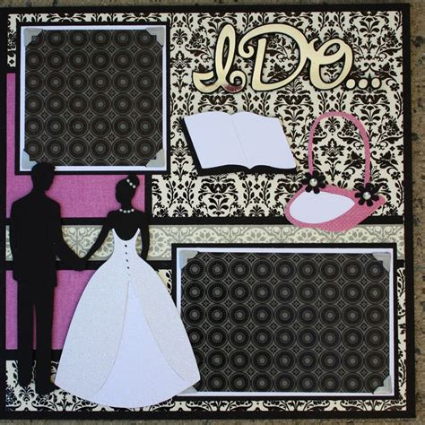 Wedding Album Scrapbook Layouts by 1000 Ideas About Wedding Scrapbook Layouts On