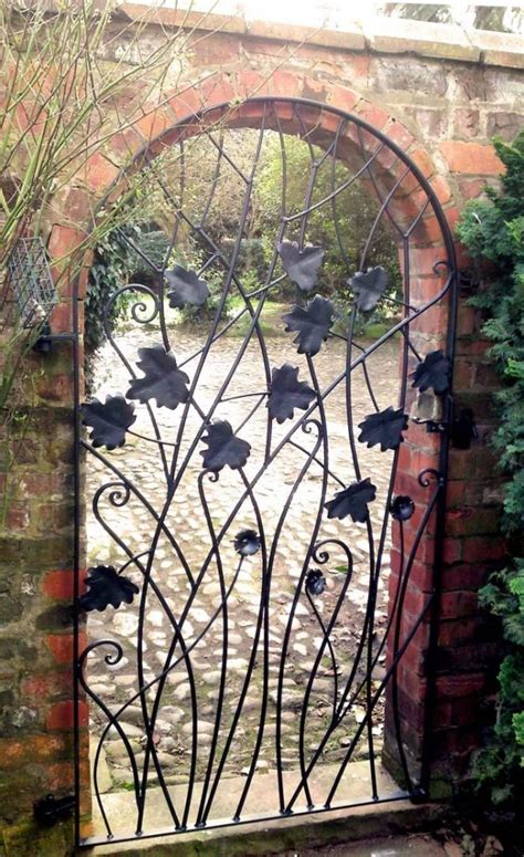 Wrought Iron Garden Gates by 15 Decorative Metal Gate Design For Amazing Impression