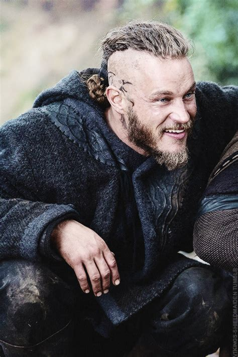 travis fimmel dye hair one does not get more alpha than ragnar lothbrok