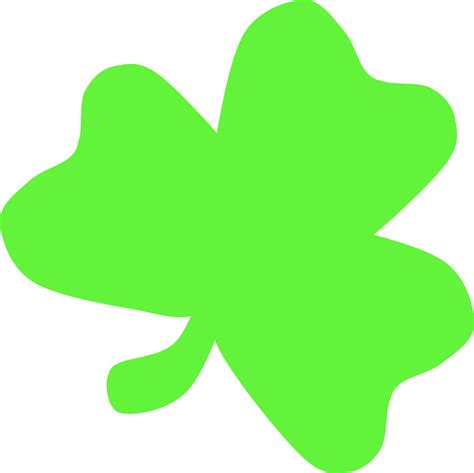 shamrock green clipart light green shamrock