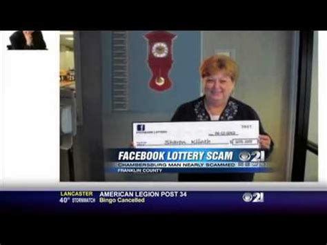facebook lottery scam youtube