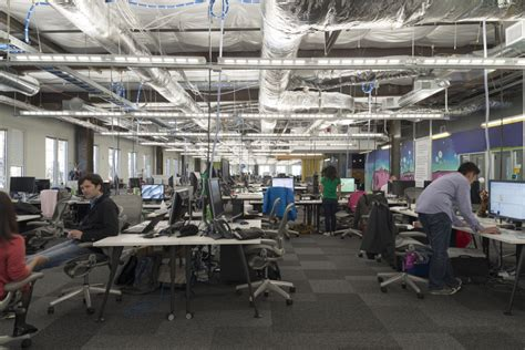 facebook open floor plan inside facebook headquarters facebook newsroom