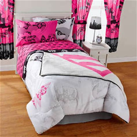 justice bedding warner bros girls twin full reversible pink justice league