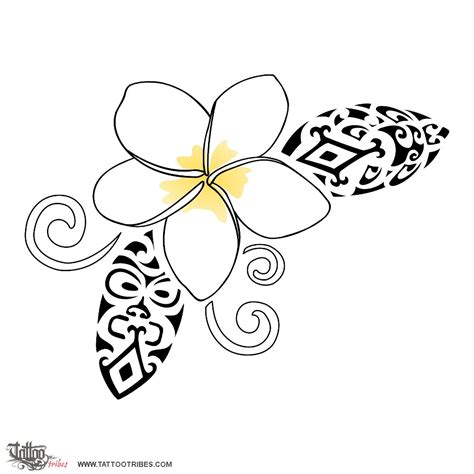 fijian tribal tattoo designs of frangipani shelter custom
