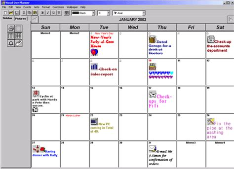 printable planner software free download free day planner template
