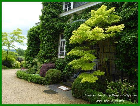 Haie Devant Maison by Le Jardin Du Sous Bois 224 Wepion Belgique Sous Ma Gloriette