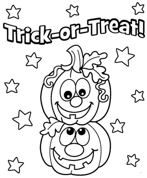 happy halloween coloring pages games happy halloween coloring pages trick or treat coloringstar