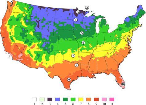 garden zone map our hardiness zone map gets a refresh arbor day tree
