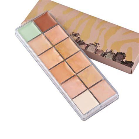 Naket 6 Make Up Set Dompet new makeup 12 colors concealer palette cosmetics 3 generation make up set in