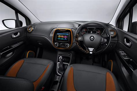 renault captur interior at renault captur sunset limited edition specs and pricing
