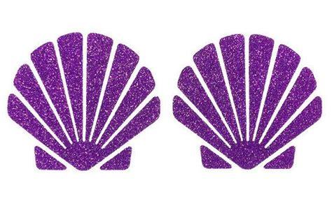 Mermaid Shell diy mermaid shell top iron on vinyl applique by