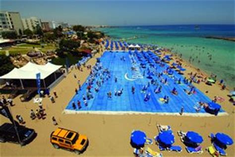 largest beach in the world biggest beach towel world record set by cyprus holidaymakers