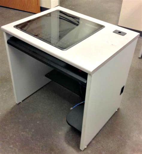 Recessed Computer Desk Computer Desk Recessed Monitor Workstations On Govliquidation Surplus