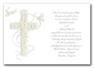 religious christian wedding invitation cards white background simple template cross