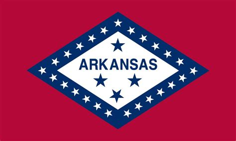 arkansas state flag coloring pages usa for kids
