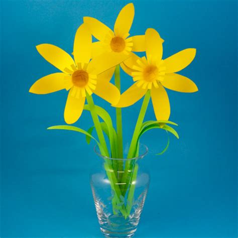 Paper Daffodils - paper daffodil patterns flower bouquet